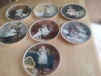 Limited edition of A Victorian Childhood china plates