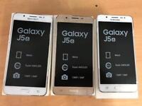 Brand new boxed Samsung galaxy J5 2016 16gb Dual Sim white & gold.