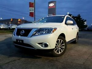 2015 Nissan Pathfinder SL, .Tech, Nav, Pan roof