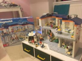 Playmobil Hospital Set 4404 & Ambulance Set