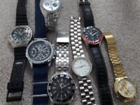 Watches some working some for spare/ repair£45 or swap?