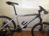 Carrera Vulcan Hybrid mountain bike