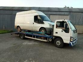 2007 ISUZU 7.5TON RECOVERY LORRY 21FOOT BED PSV'D