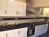 White kitchen for sale in good condition with appliances