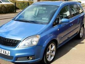 Vauxhall zafira sri 1.9 diesel