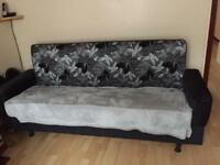 New sofa bed with storage