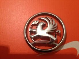 Vauxhall griffin badge