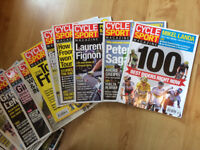 Collection of Cycling Magazines 2005-2017