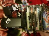 Sony psp street E1008 2gb + 7 games