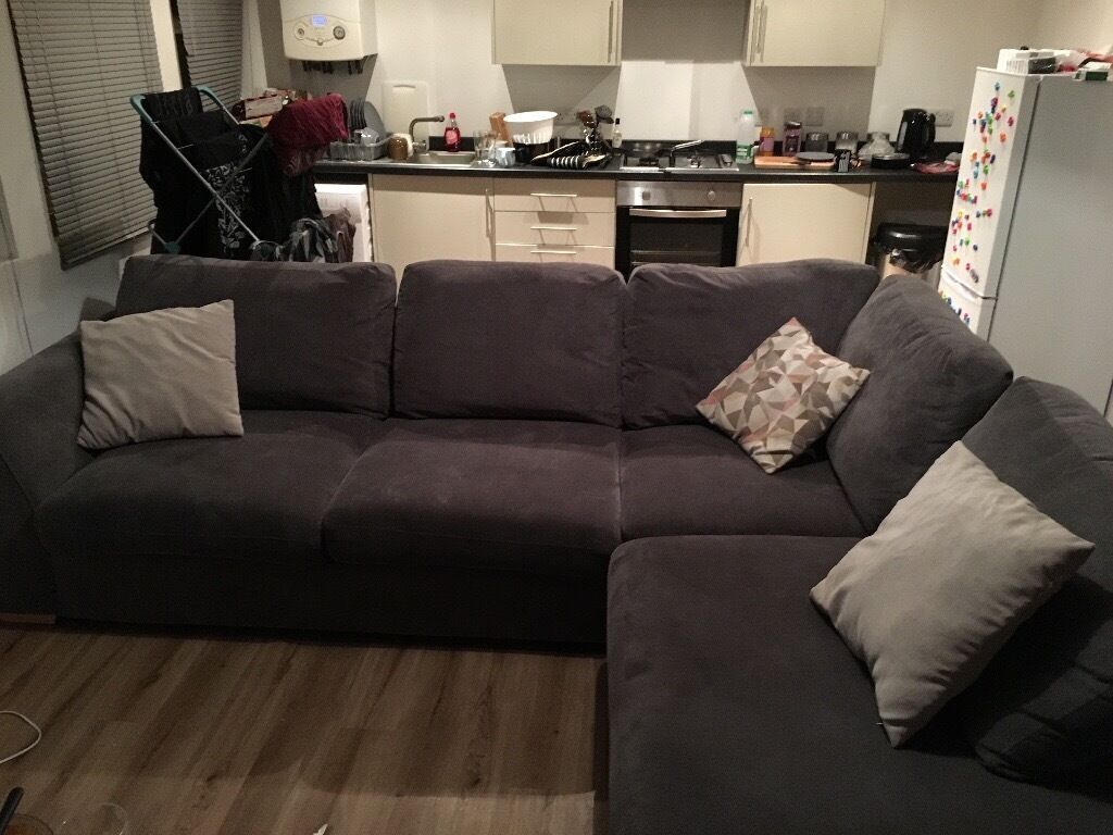 New eleanor dfs corner sofa for sale in waterlooville for Sectionals for sale