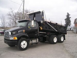 2009 Sterling Acterra BRAND NEW PTO Dump