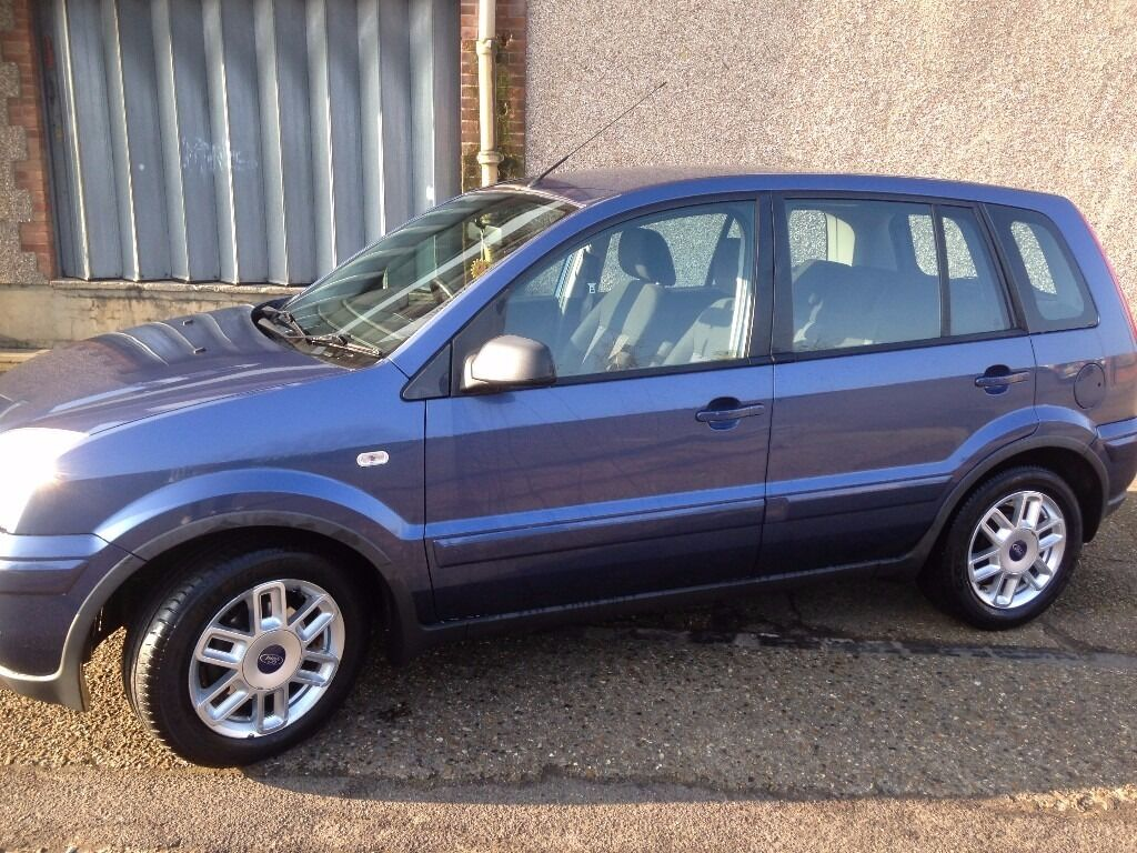 ford fusion  denim blue  zetec  miles  price