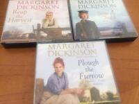 Audio books trilogy Margaret Dickinson
