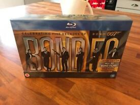 Limited edition James Bond Blu-ray collection and Skyfall Blu-ray