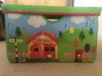 Happyland Store and Play - storage box and play mat