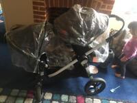 Babyjogger double buggy city select mini