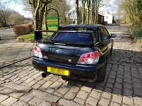 Subaru wrx sti wide track type uk