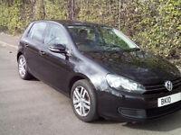 2010 10 Volkswagen Golf 1.6 SE Tdi Bluemotion Tech 5dr Hatchback part ex swap bmw m sport diesel