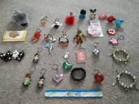 Assorted Keyrings & Pot Ornaments