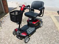 Pride Apex Rapid mobility scooter. Good condition. Recent new battery.
