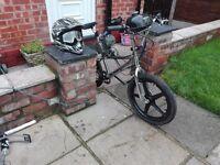 Bmx bike custom with engine