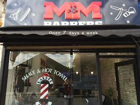 Barber needed full or part time