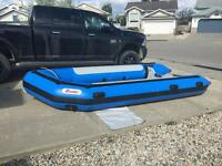Zebec AR-450 inflatable boat like NEW!!
