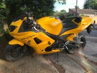 Triumph Daytona 650. 26,500 Miles. GREAT CONDITION