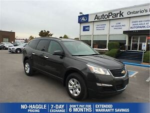 2016 Chevrolet Traverse LS AWD| Backup Camera| Cruise| Bluetooth