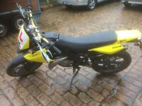 2012 DERBI SENDA SM EVO 50cc geared moped