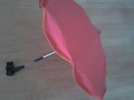 Mothercare sun canopy / parasol. Comes with Adapter/universal