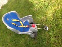 KIDDIES BICYCLE SEAT FITS ON REAR OF ADULT BIKE