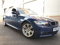 BMW 3 Series 2007 2.0 320d M Sport Touring 5 door AUTOMATIC, FULL SERVICE HISTORY, LEATHER, BARGAIN