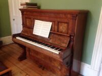 Piano Waldemar Berlin Walnut Upright for sale