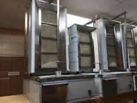 NEW DONER KEBAB MACHINE CATERING COMMERCIAL SHAWARMA GAS GRILL TAKE AWAY RESTAURANT SHOP BAR