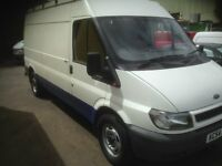 2004 54 FORD TRANSIT 2.4 TDI 125 350 LWB low mils 79959 no vat NEW M.O.T no advisory