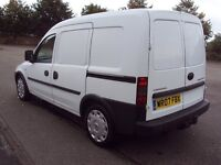 VAUXHALL COMBO 2007 1.3 CDTI DIESEL, LOW MILES ONLY 80K WITH HISTORY, TOW BAR ELECTRICS AND SLD