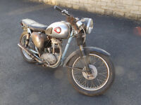 BSA C15 Star - classic motorcycle project