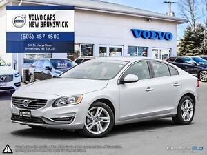 2015 Volvo S60 T5 AWD! VOLVO CPO WARRANTY TO 160K! 0.9% FINANCIN