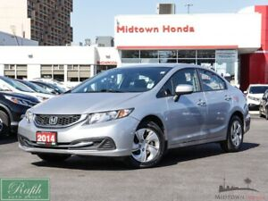 2014 Honda Civic Sedan LX Coupe-NO ACCIDENTS-ONE OWNER