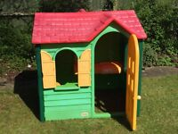 Little Tikes Country Cottage Playhouse - Good Condition