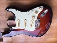 Fender stratocaster body custom shop Texas specials
