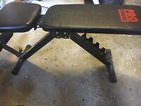 Pro Power Fitness Utility Training Bench MINT cond.