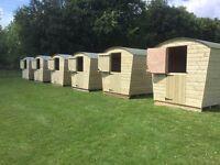 Timber pod,shepherds hut glamping
