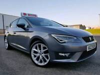 "April 2013 Seat Leon 2.0 Tdi FR Tech Pack 150bhp! Genuine Seat 18"" Alloys! Stunning Car! 68000 Miles"