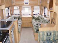 Lunar Quaser 524 Touring Caravan