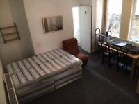 ** Large Studio with Private Garden **
