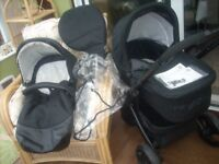 KIDD1 COUTURE WILLZ TRAVEL SYSTEM IN A1 CONDITION CAN DELIVER