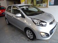 2012 KIA PICANTO 1.2 FULL AUTOMATIC, 5DOOR HATCHBACK, VERY CLEAN CAR, DRIVES LIKE NEW, LOW MILES 31K