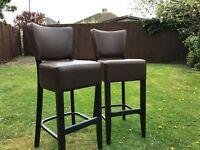 Bar Stool ** Brown ** Seating